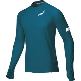 inov-8 Base Elite LS Baselayer Herr blue/green